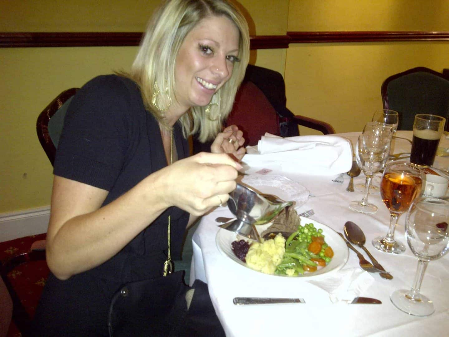 Gluten free carvery and dessert at the Park Hotel, Barnstaple