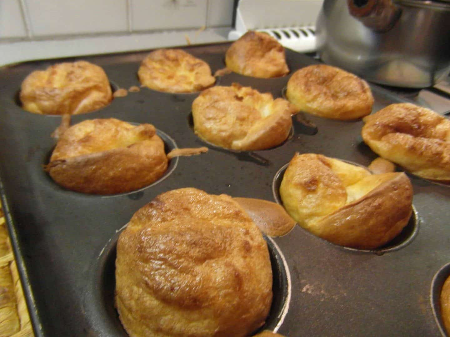Gluten free yorkshires with roast beef – the ultimate winter feast!