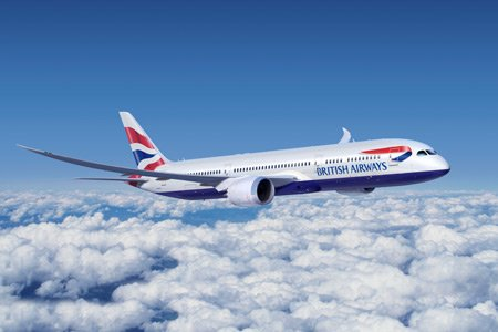 Flying gluten free with British Airways