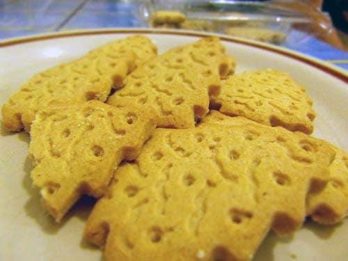 Festive post #2: Prewett's gluten free Christmas tree shortbreads