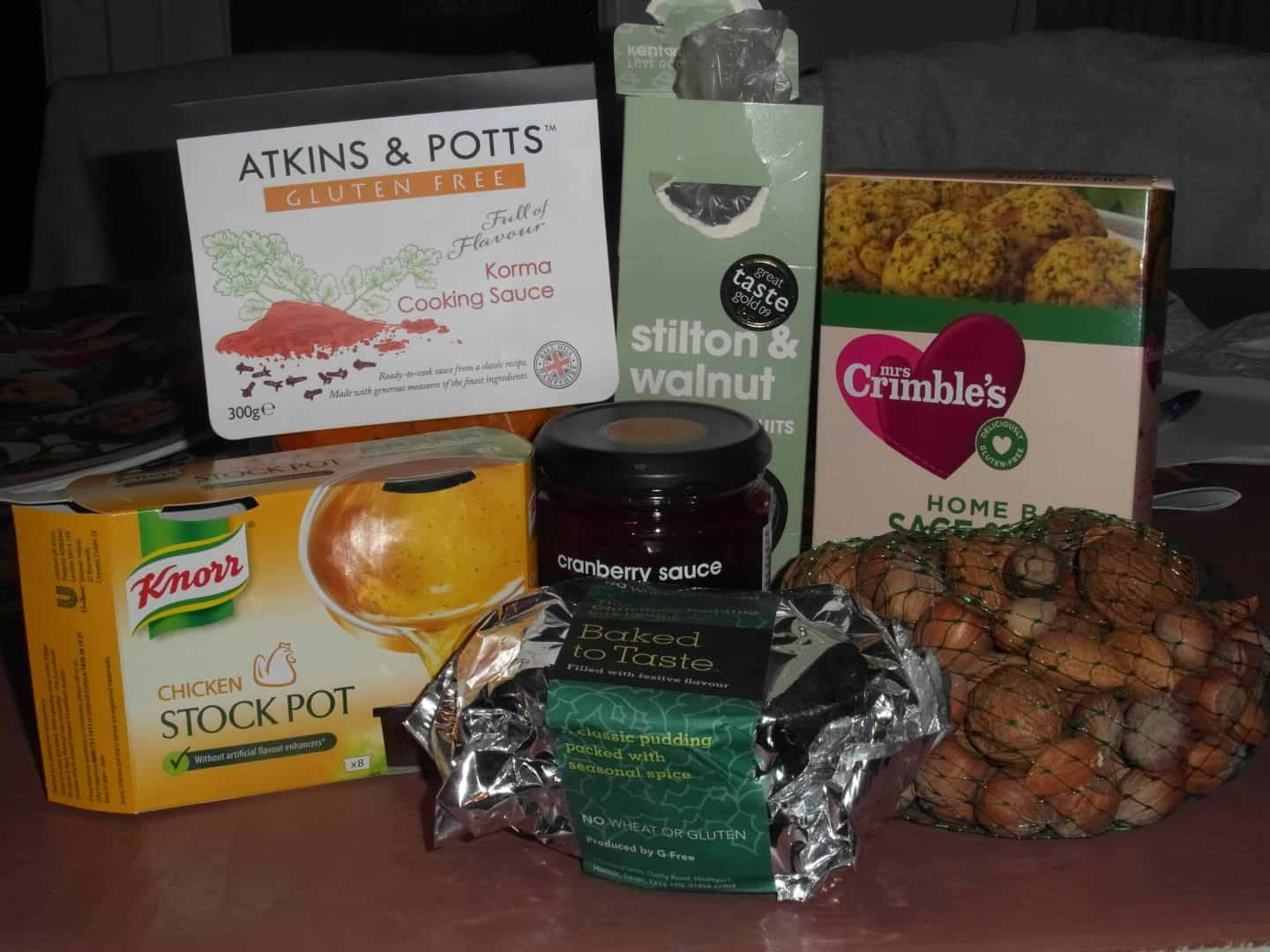 Festive post #3: Last minute gluten free panic buying and festive roundup!