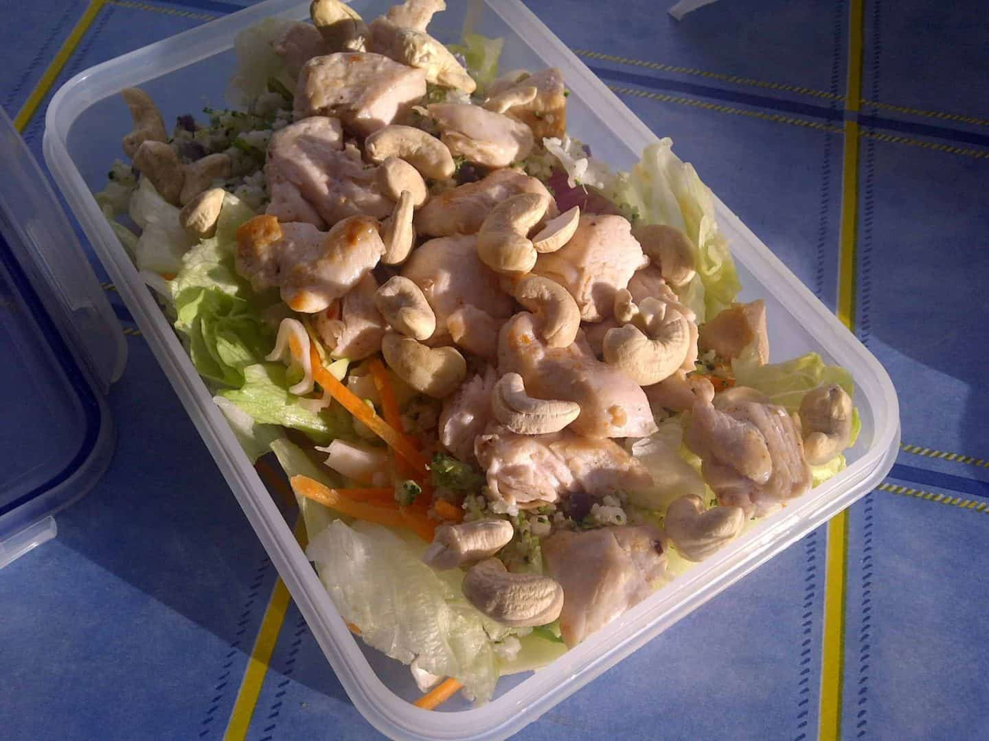 Getting fit gluten free style: thai curry, lazy training and cashew nuts