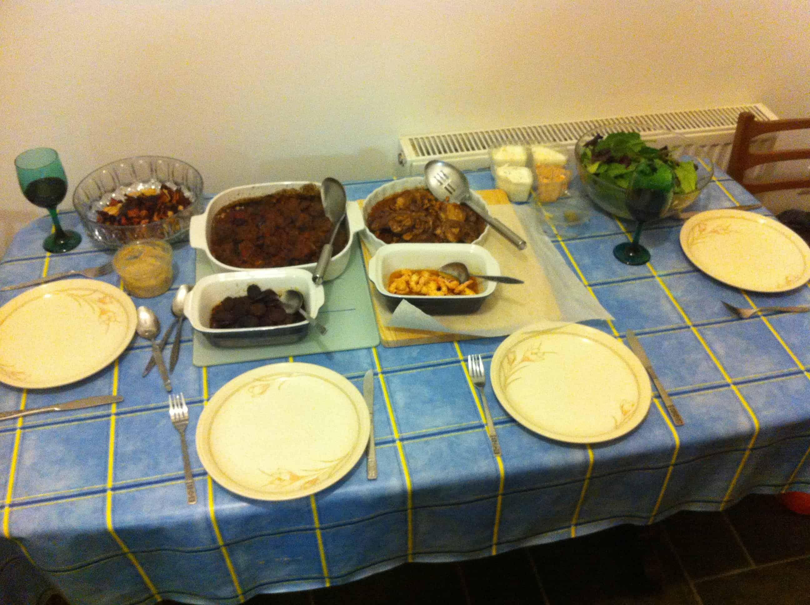 A table full of tasty treats!