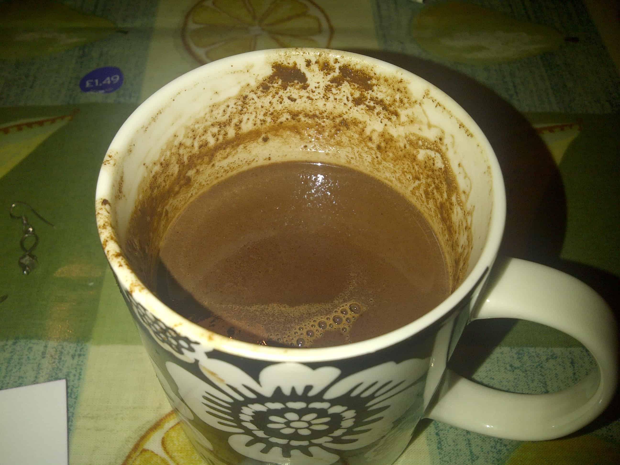 Hot chocolate - because everyone needs a break sometimes!