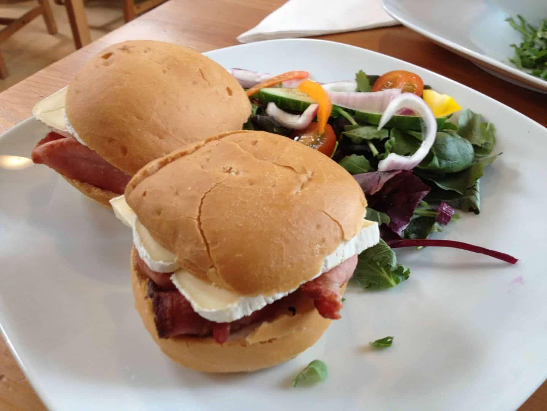 Gluten free lunch at Fremington Quay Cafe, North Devon