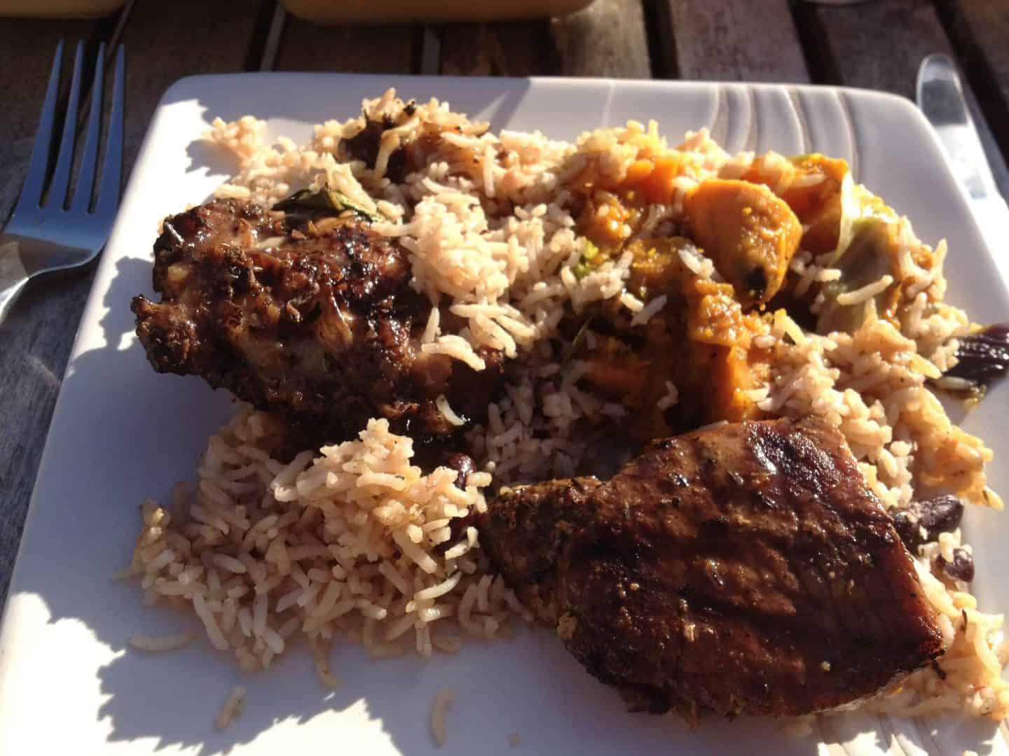 A taste of sunshine from Monty's Caribbean Kitchen, Barnstaple