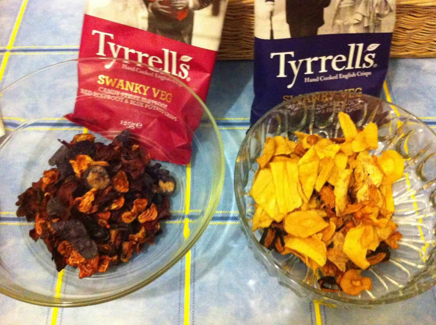 The Gluten Free Blogger's favourite gluten free crisps