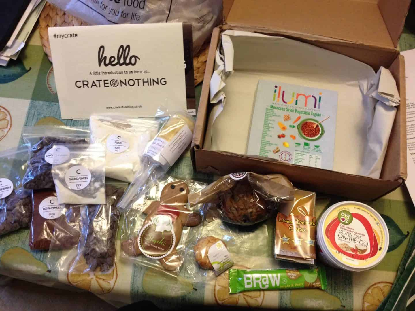 My first gluten free Crate of Nothing – a [very] belated review!