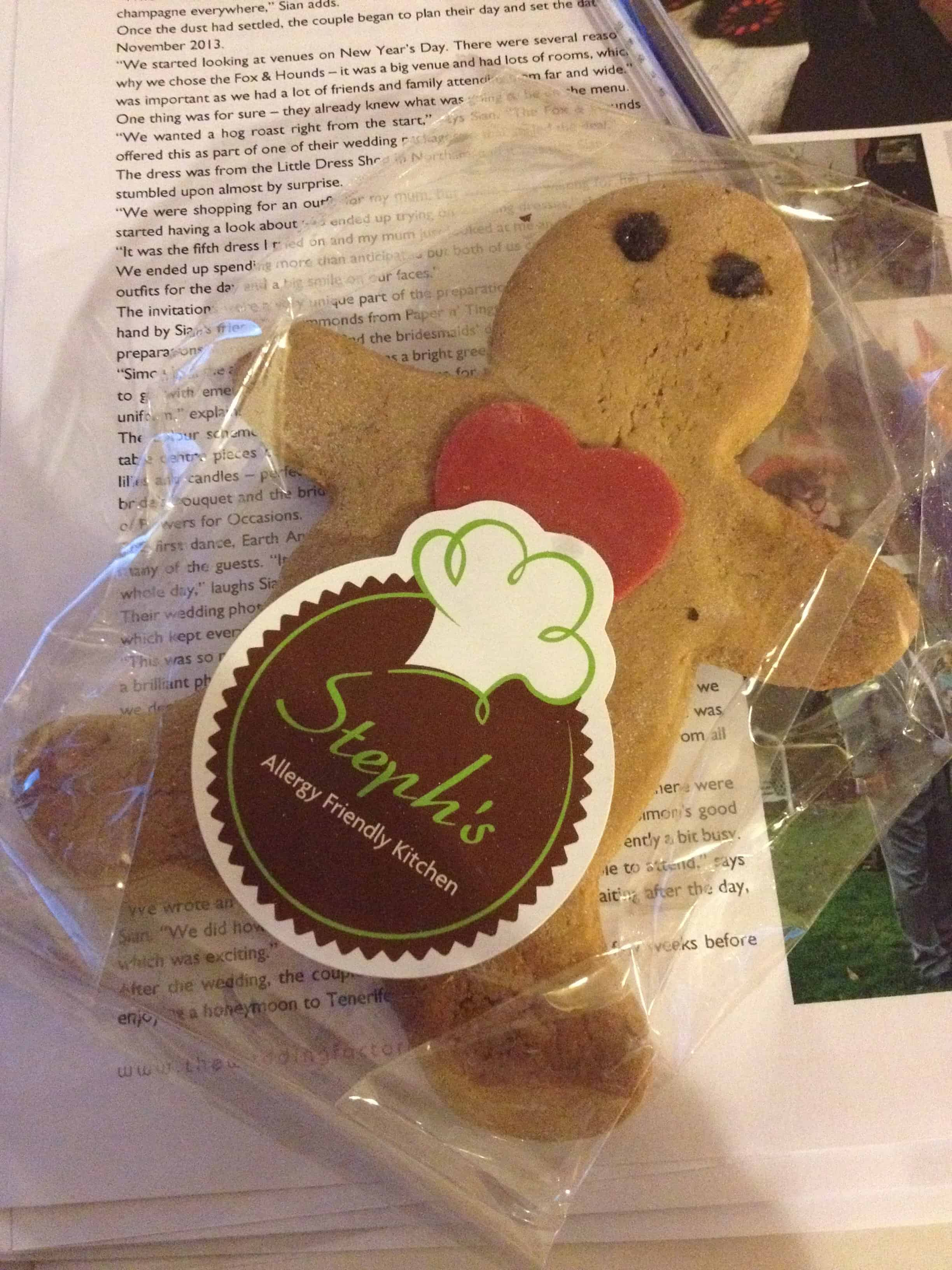 My gingerbread man accompanied me to work.... he never returned...