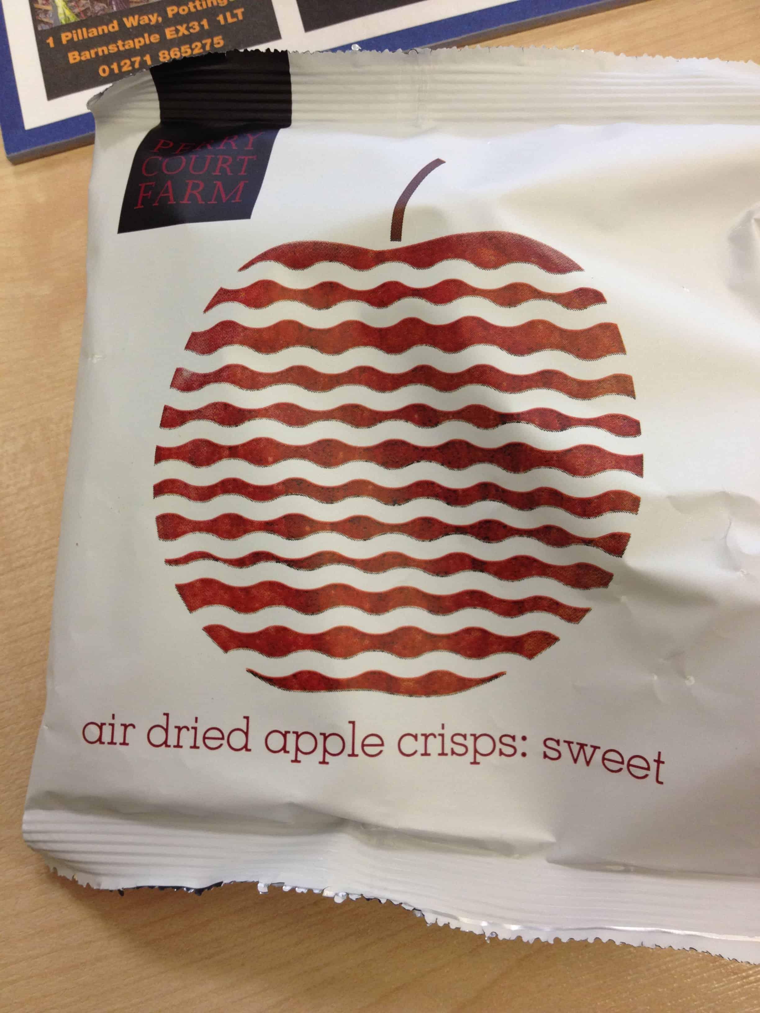 Sweet crisps? Madness!