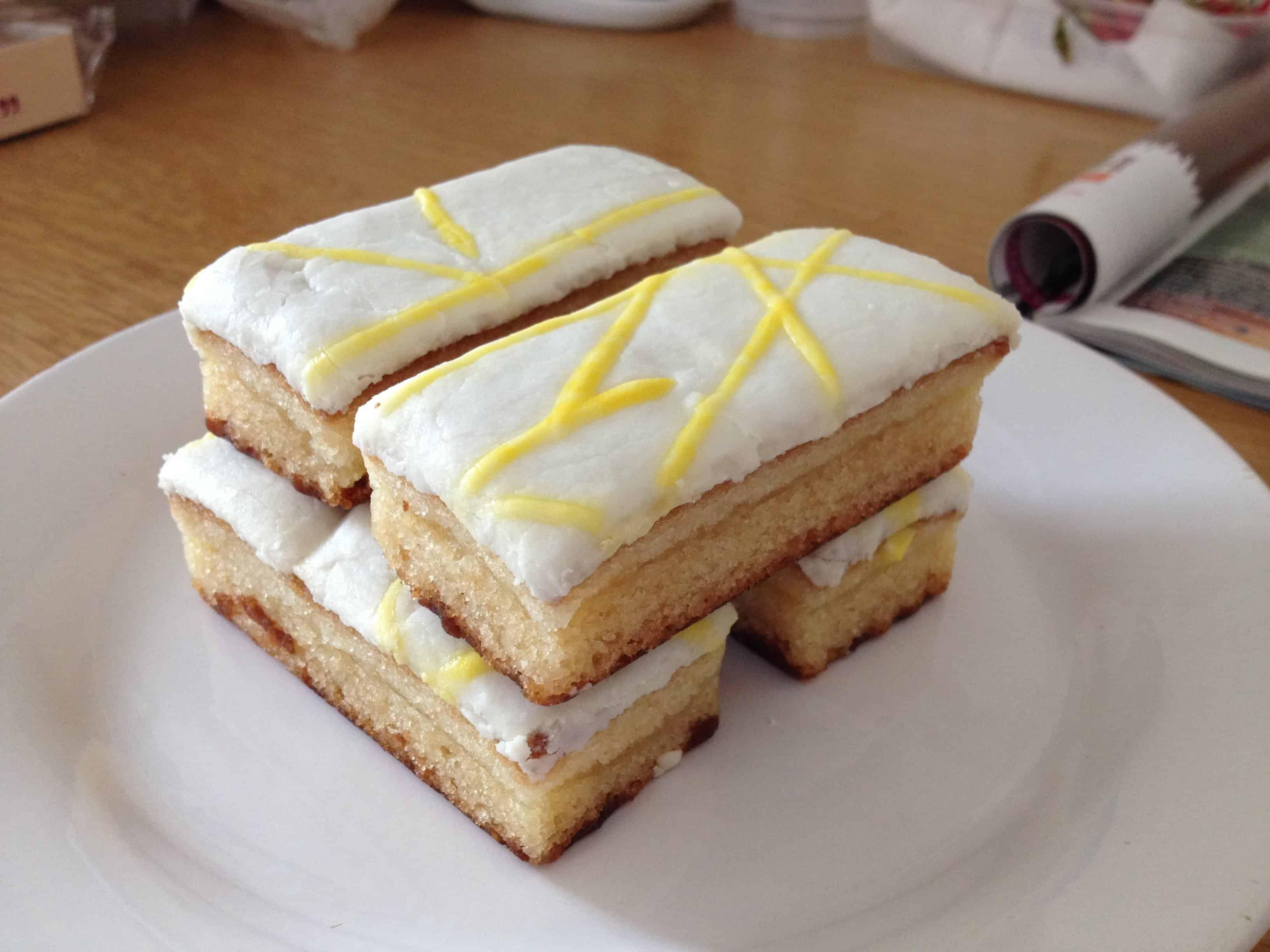 The gluten free lemon from Mrs Crimble's.