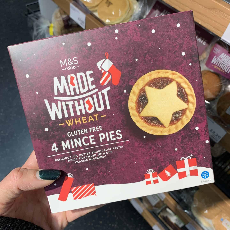 M&S gluten free mince pies