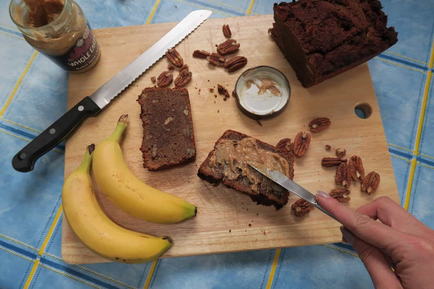 Recipe: Gluten and dairy free protein banana bread with Protein Pow's vegan mix