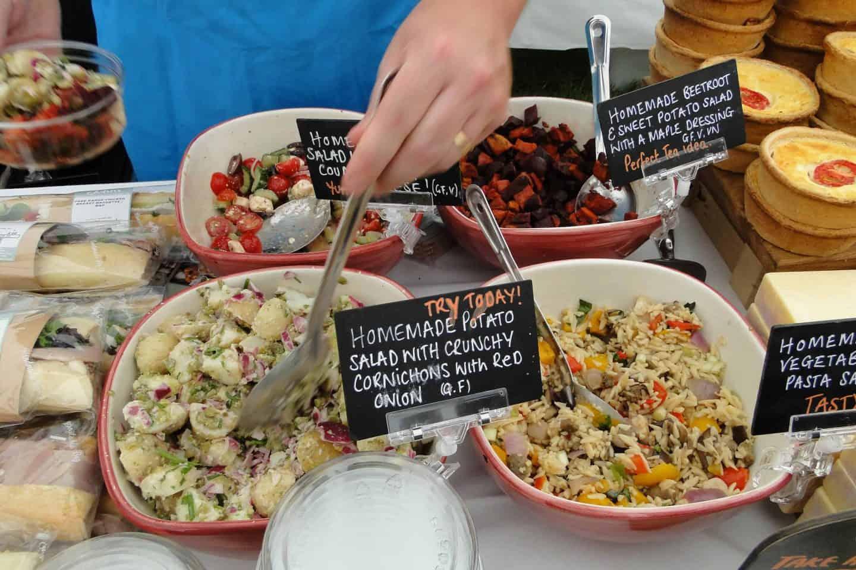 Gluten free discoveries at North Devon Show