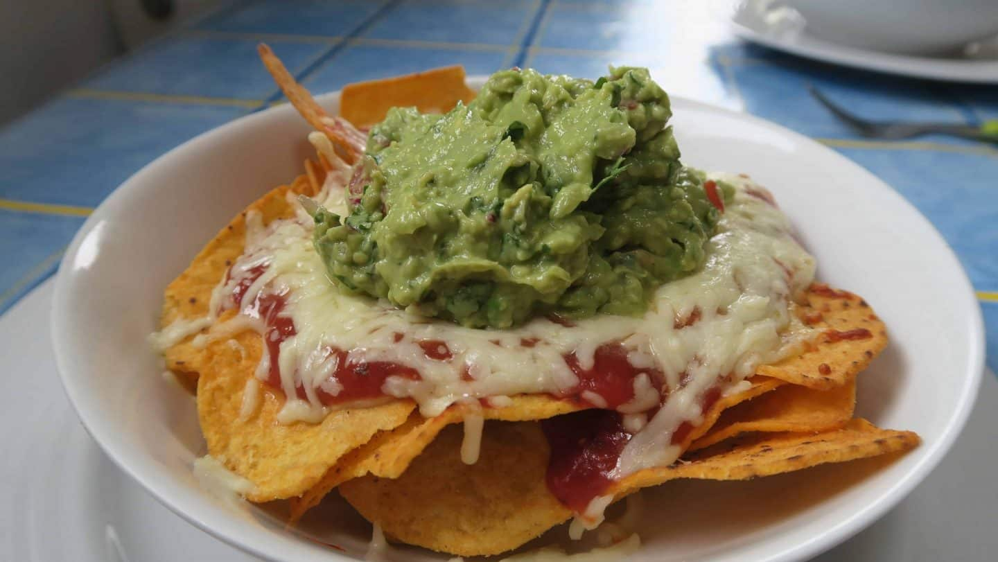 Simple and quick home made gluten free nachos