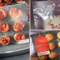 gluten free christmas food m&S
