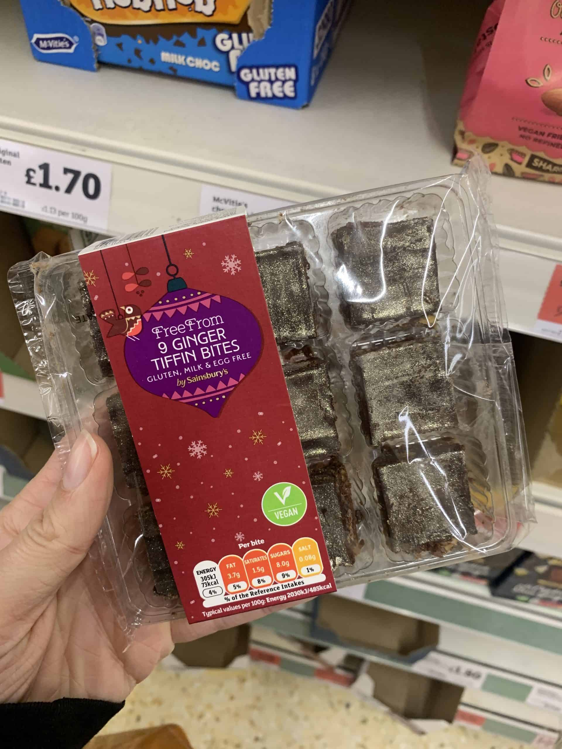 gluten free christmas food sainsburys 20201