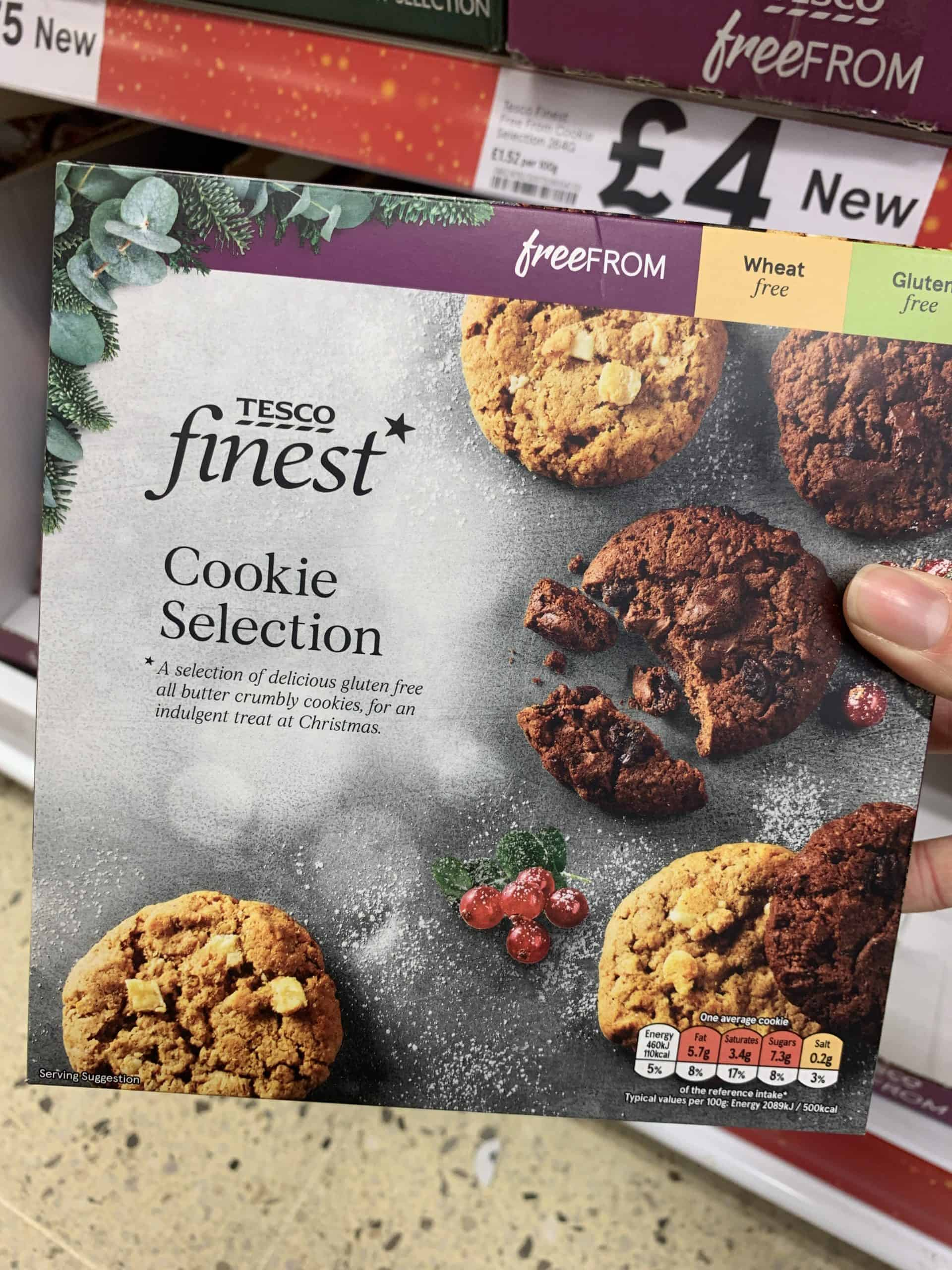 gluten free christmas food tesco 2020