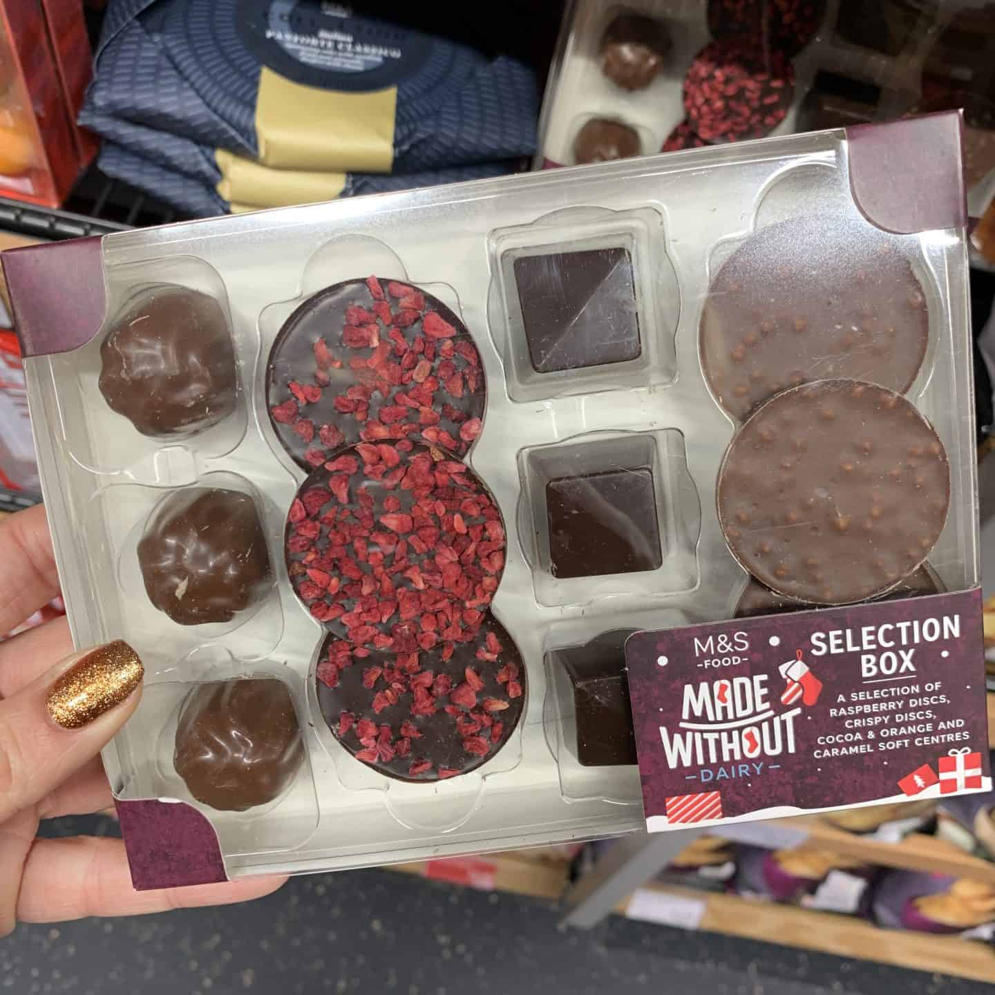 gluten free marks and spencers christmas food |