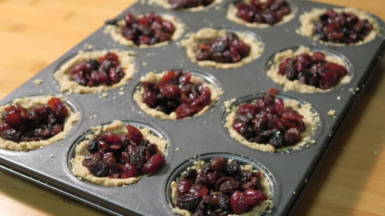 Healthy gluten free, refined sugar free mince pie recipe
