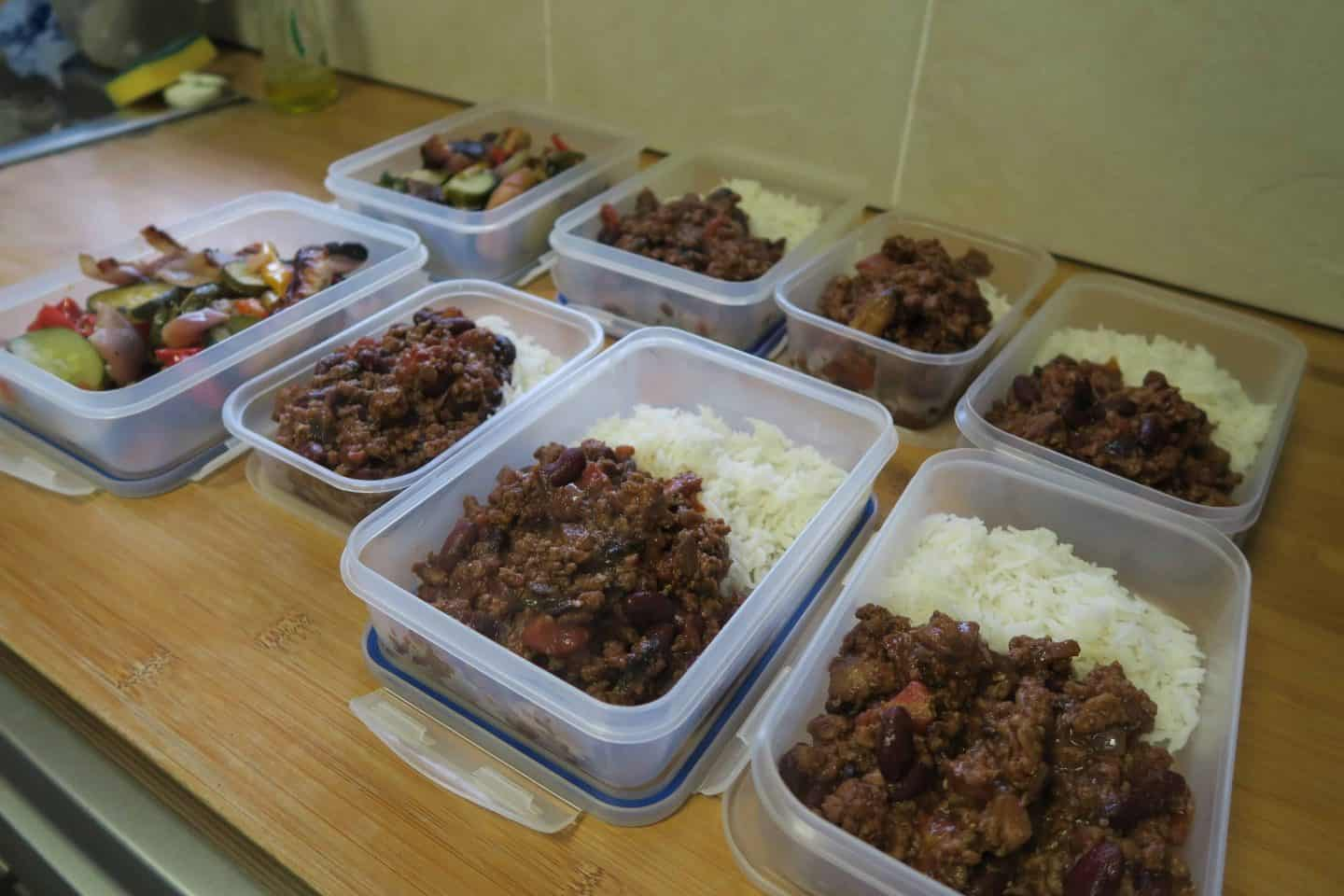 The Reform 8 week challenge begins: Meal prep and getting back into training