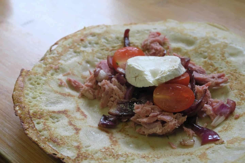 Gluten free buckwheat pancakes recipe - www.theglutenfreeblogger.com