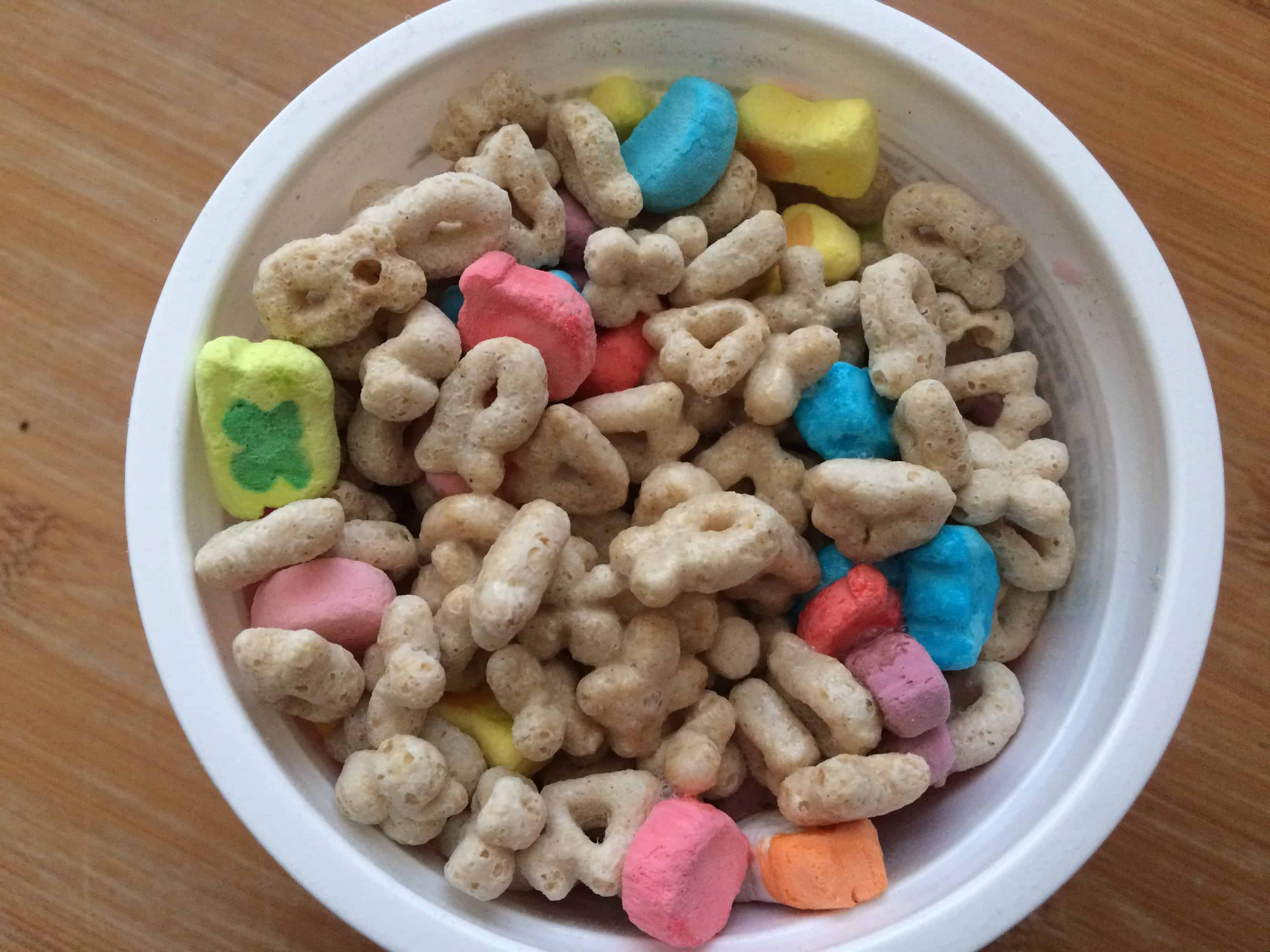 Gluten free Lucky Charms