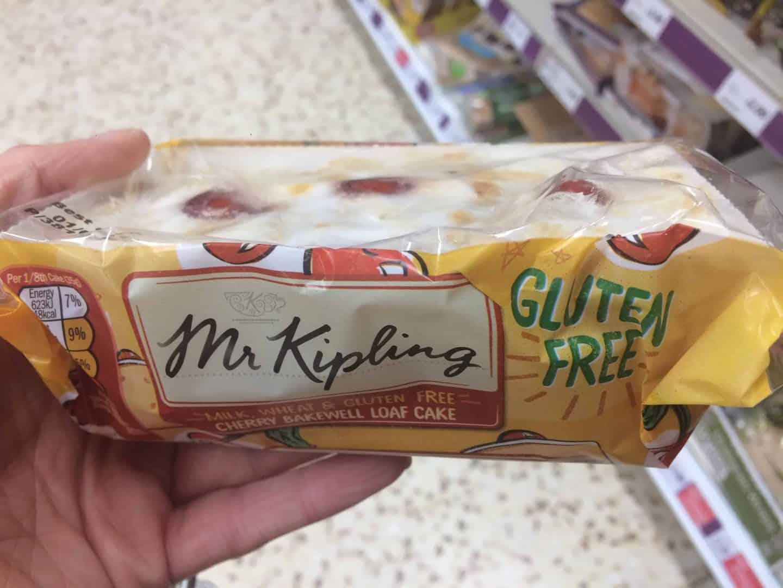 Mr Kipling gluten free cakes