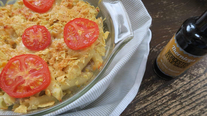 Gluten free tuna pasta bake with Thornleys Natural Foods. www.theglutenfreeblogger.com