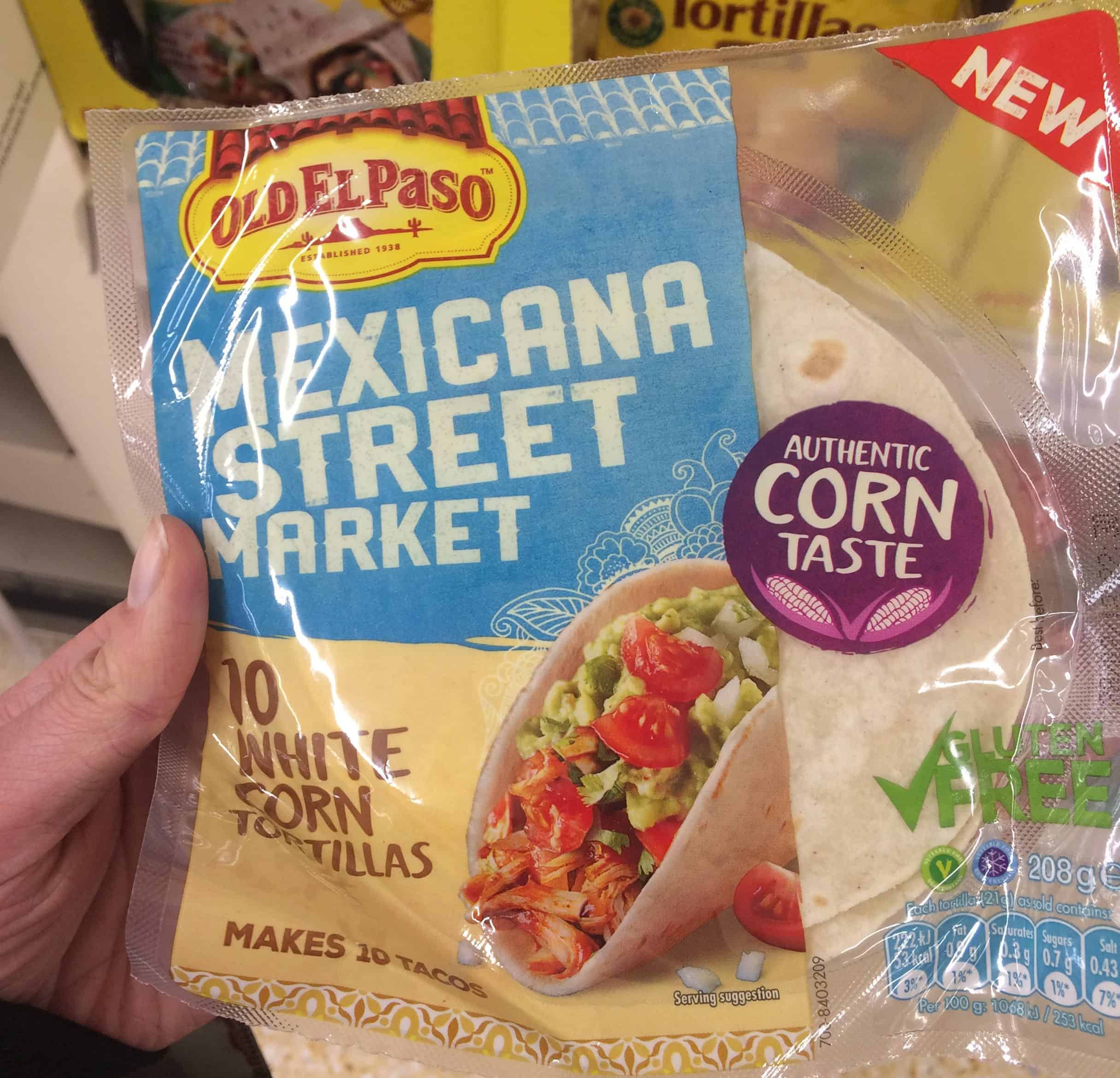gluten free corn tortillas old el paso