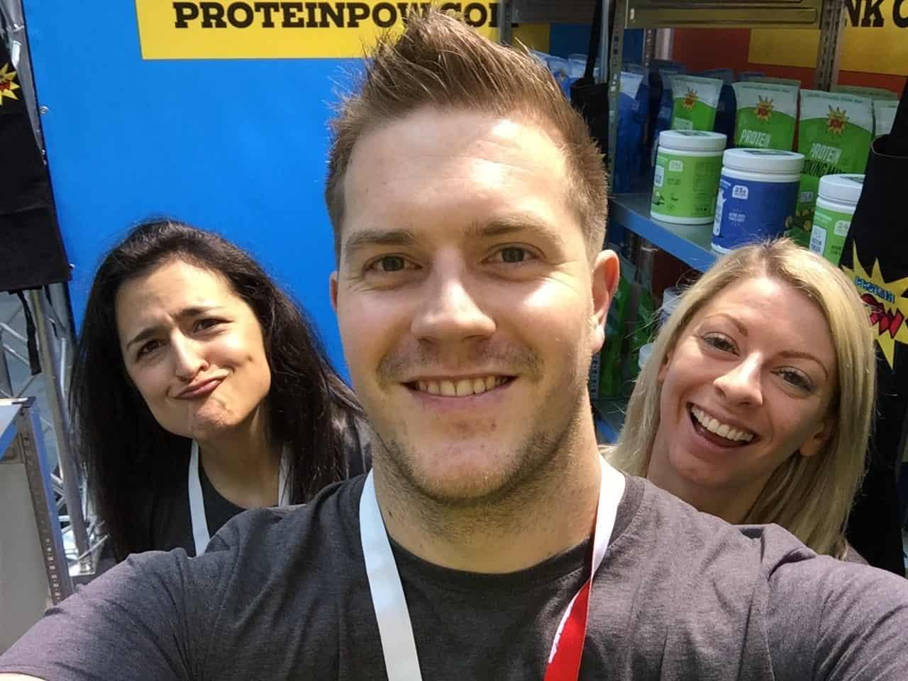 Protein Pow Fitcon uk 2017 London