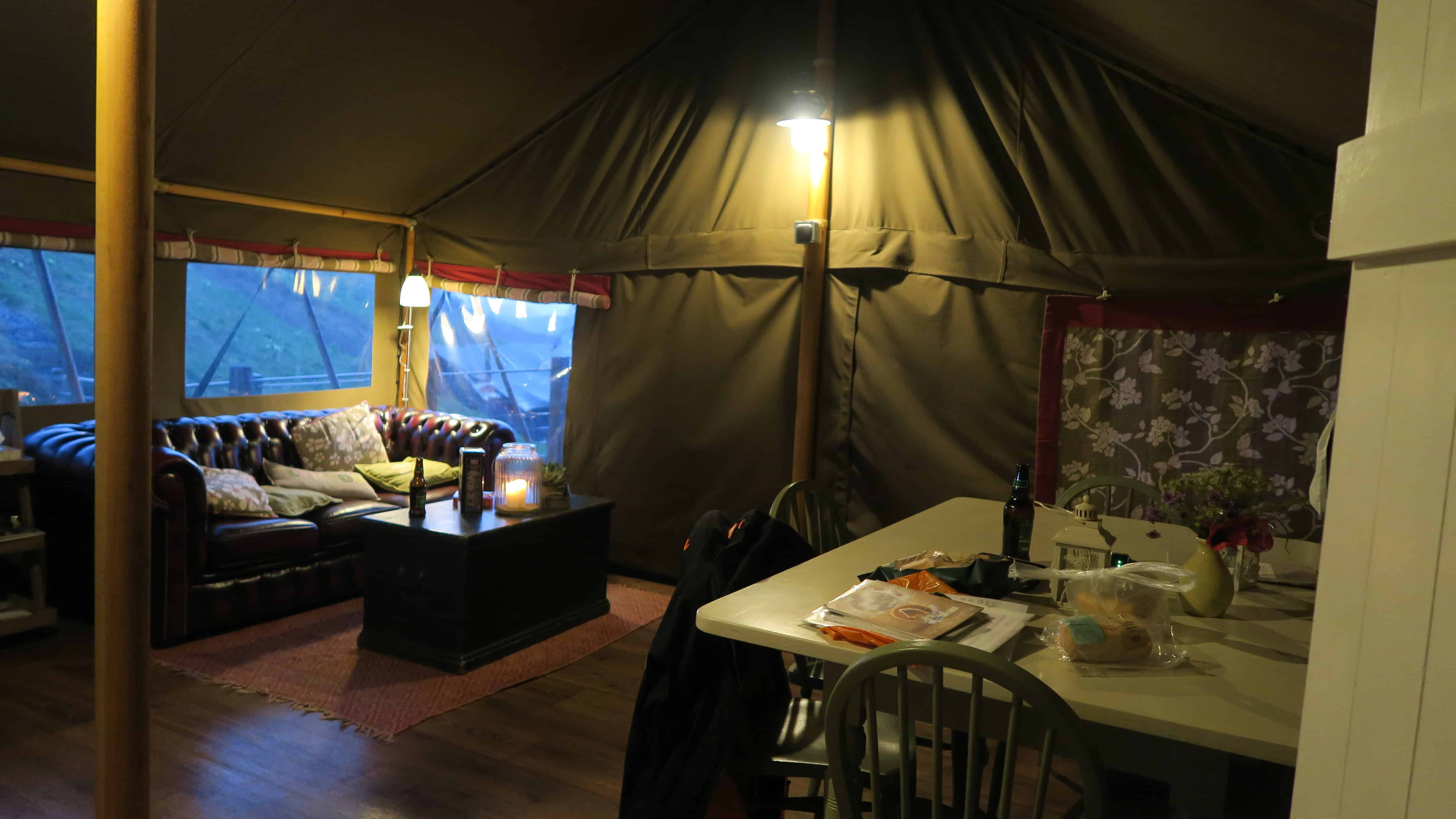 Glamping at Longlands Devon, North Devon