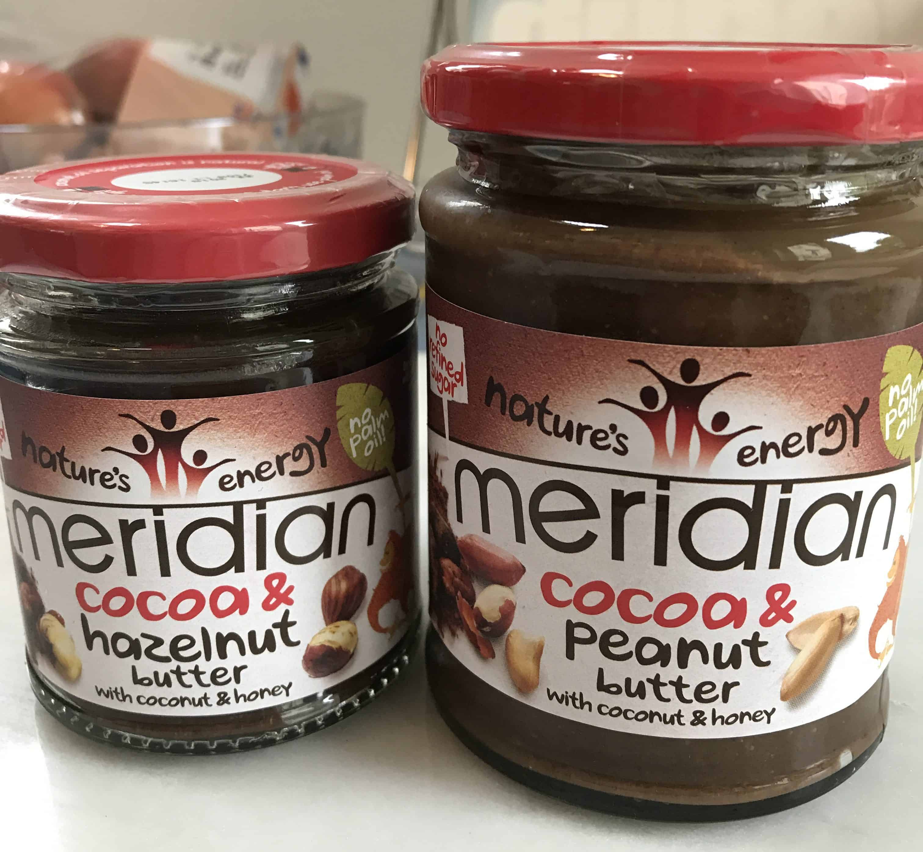 gluten free monthly favourites may meridian cocoa hazelnut