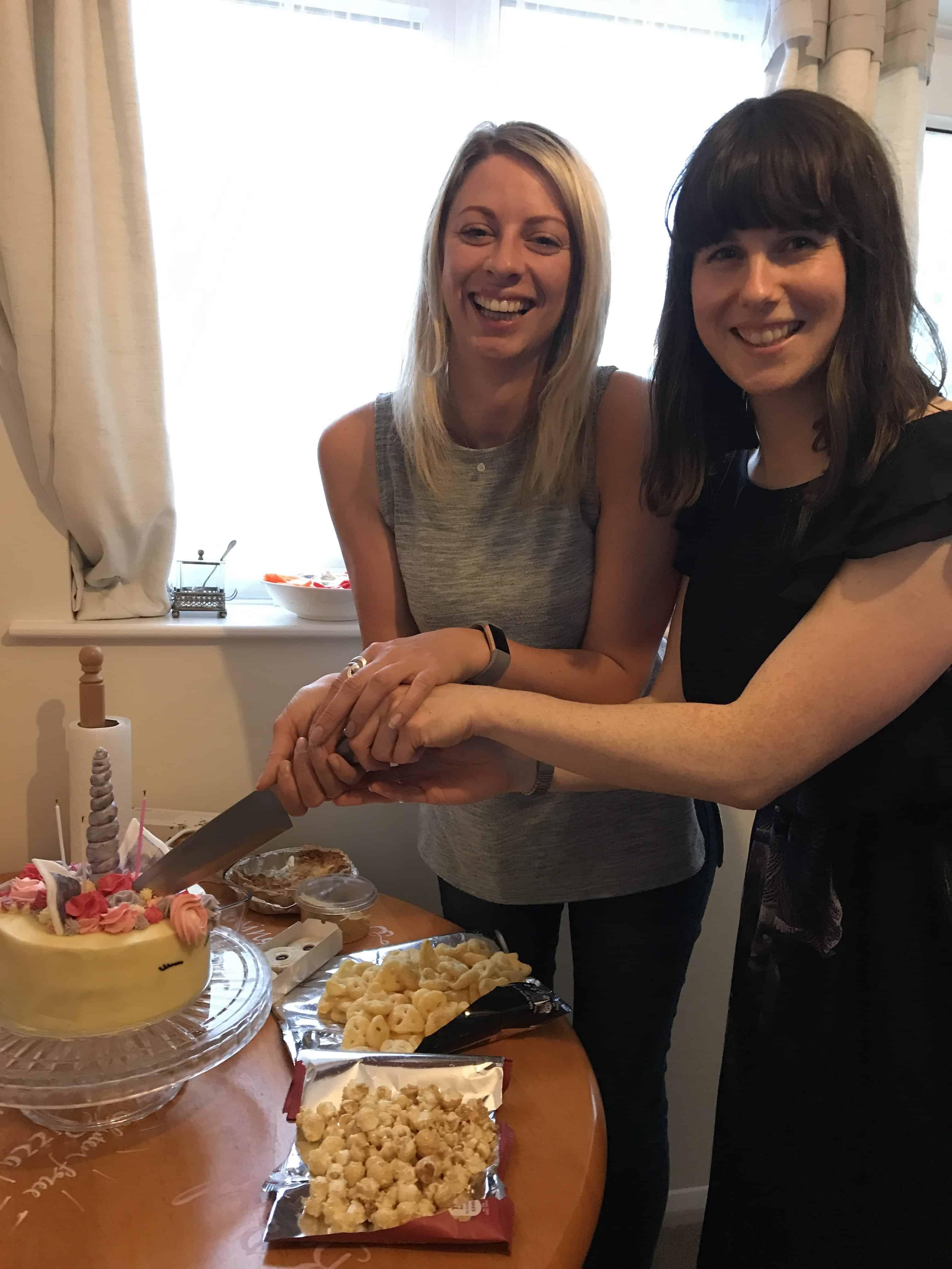 gluten free north devon unicorn cake