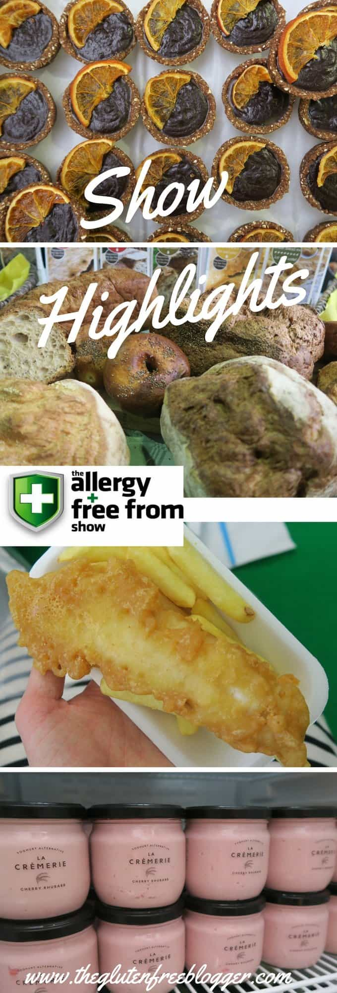 My 8 Highlights from the Allergy and Free From Show London 2017 - www.theglutenfreeblogger.com