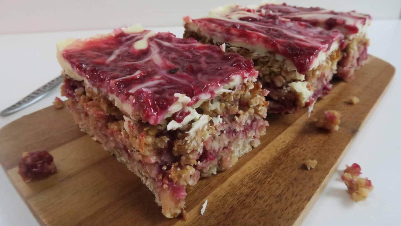 gluten free flapjack recipe white chocolate and raspberry flapjack