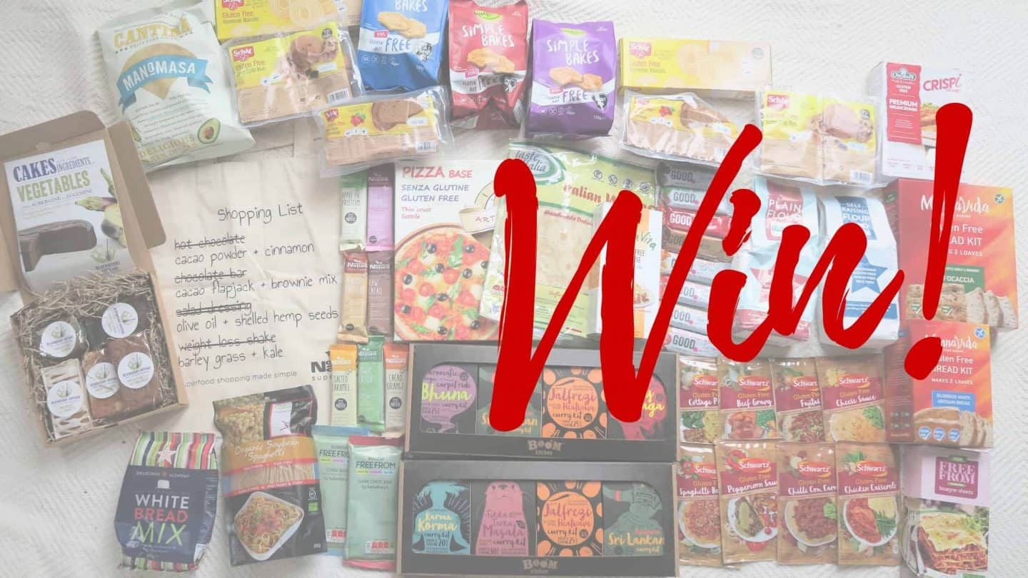 WIN! A giant gluten free hamper!