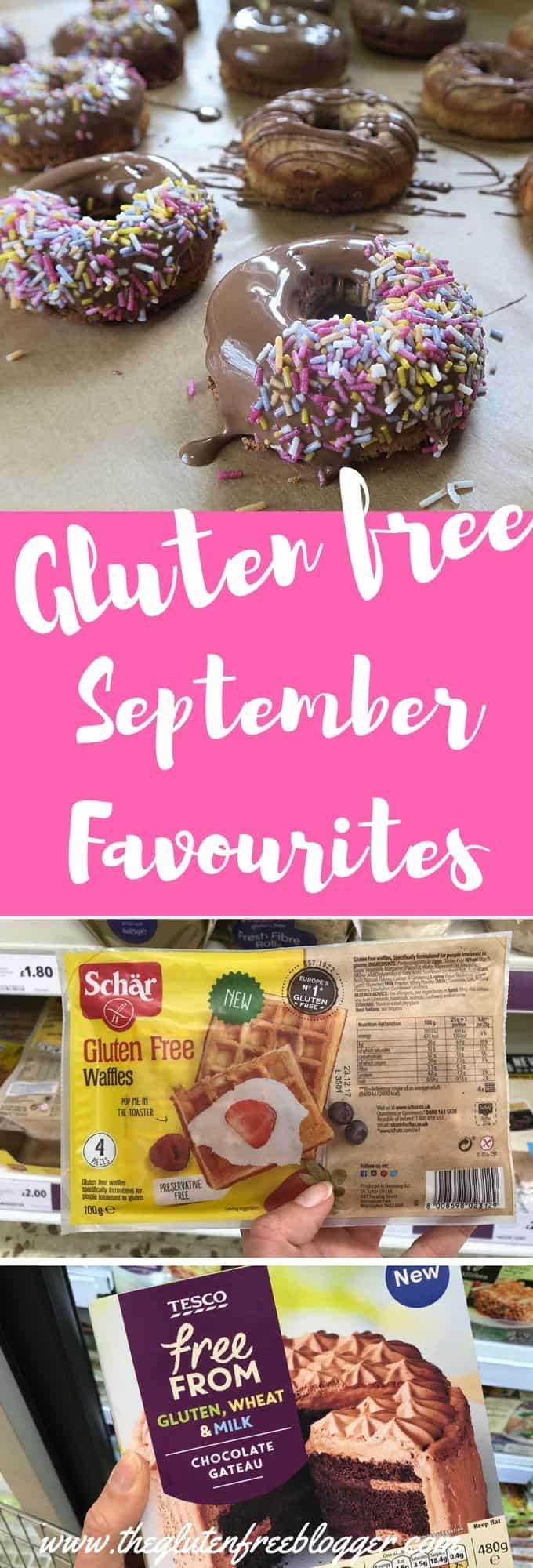 Gluten free September favourites - www.theglutenfreeblogger.com