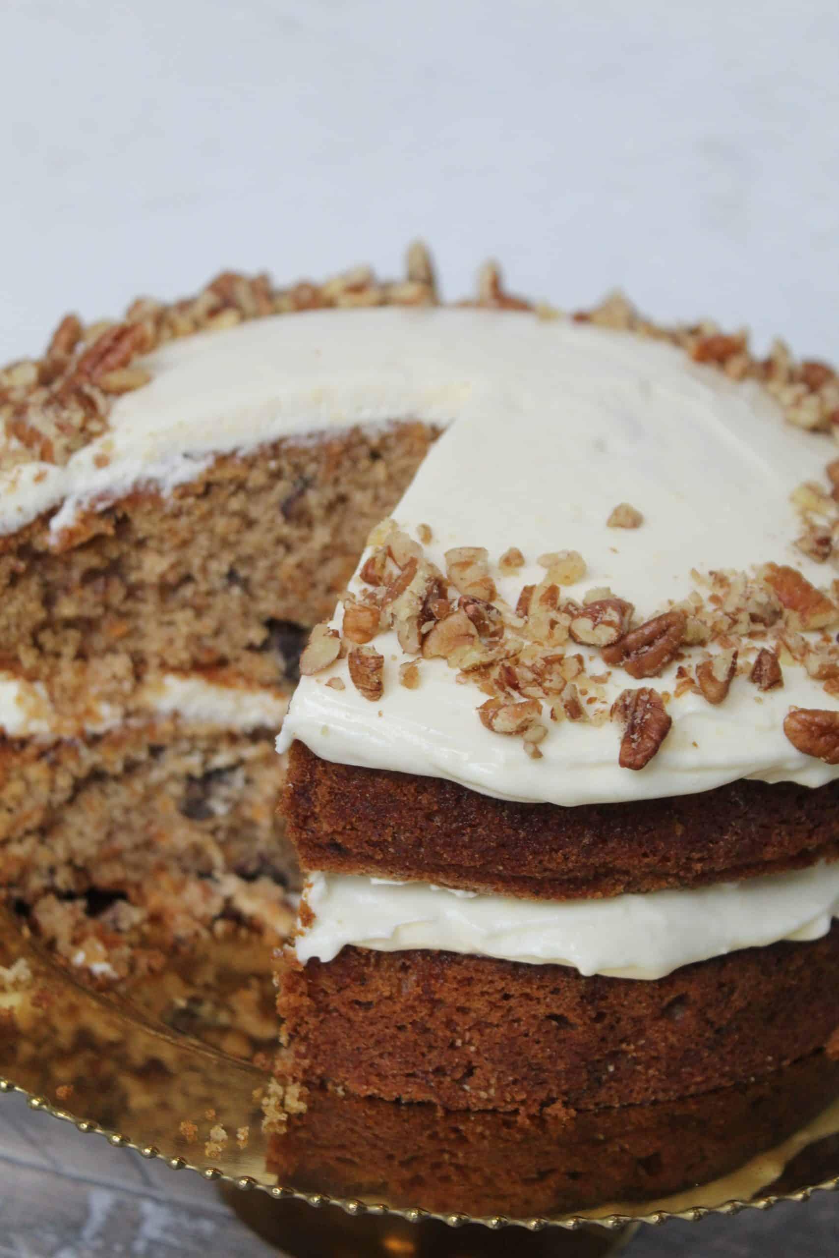 Gluten Free Carrot Cake Recipe (Dairy Free)