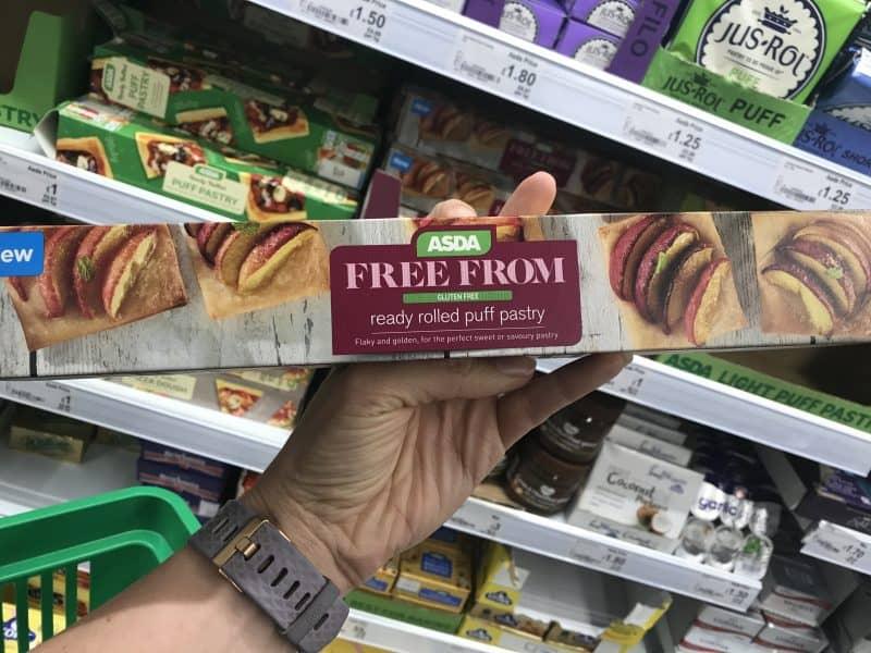 asda gluten free puff pastry 1