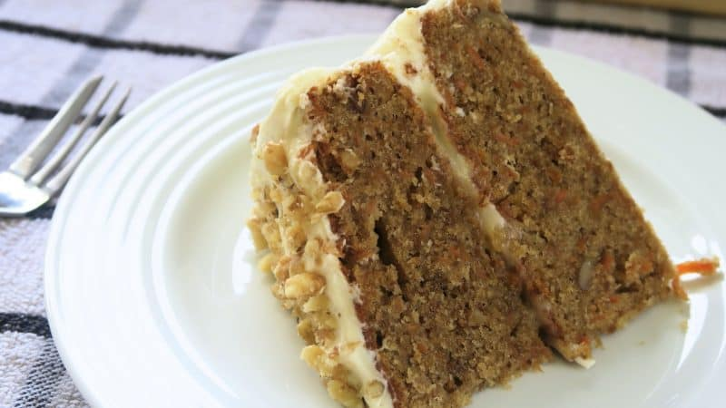gluten free carrot cake recipe dairy free
