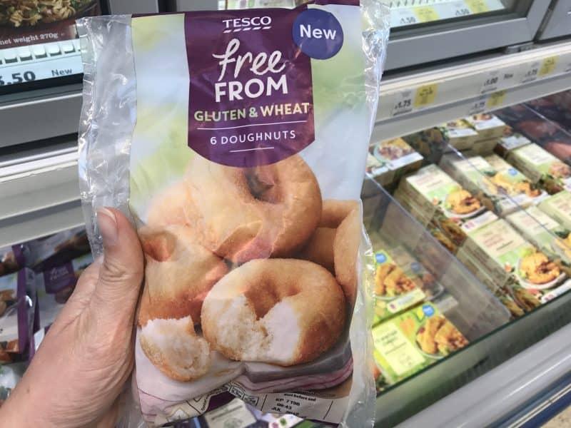 gluten free ring doughnuts tesco