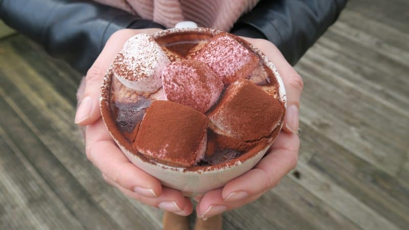 VEGAN BAILEYS HOT CHOCOLATE GLUTEN FREE 11
