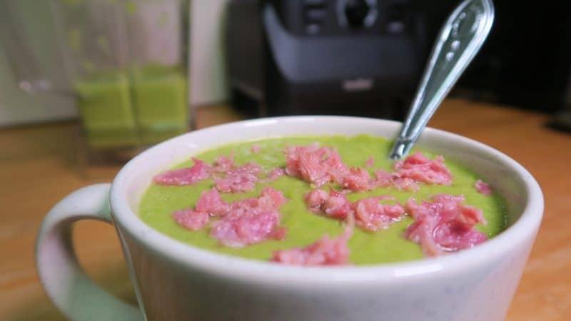 gluten free pea and ham soup recipe
