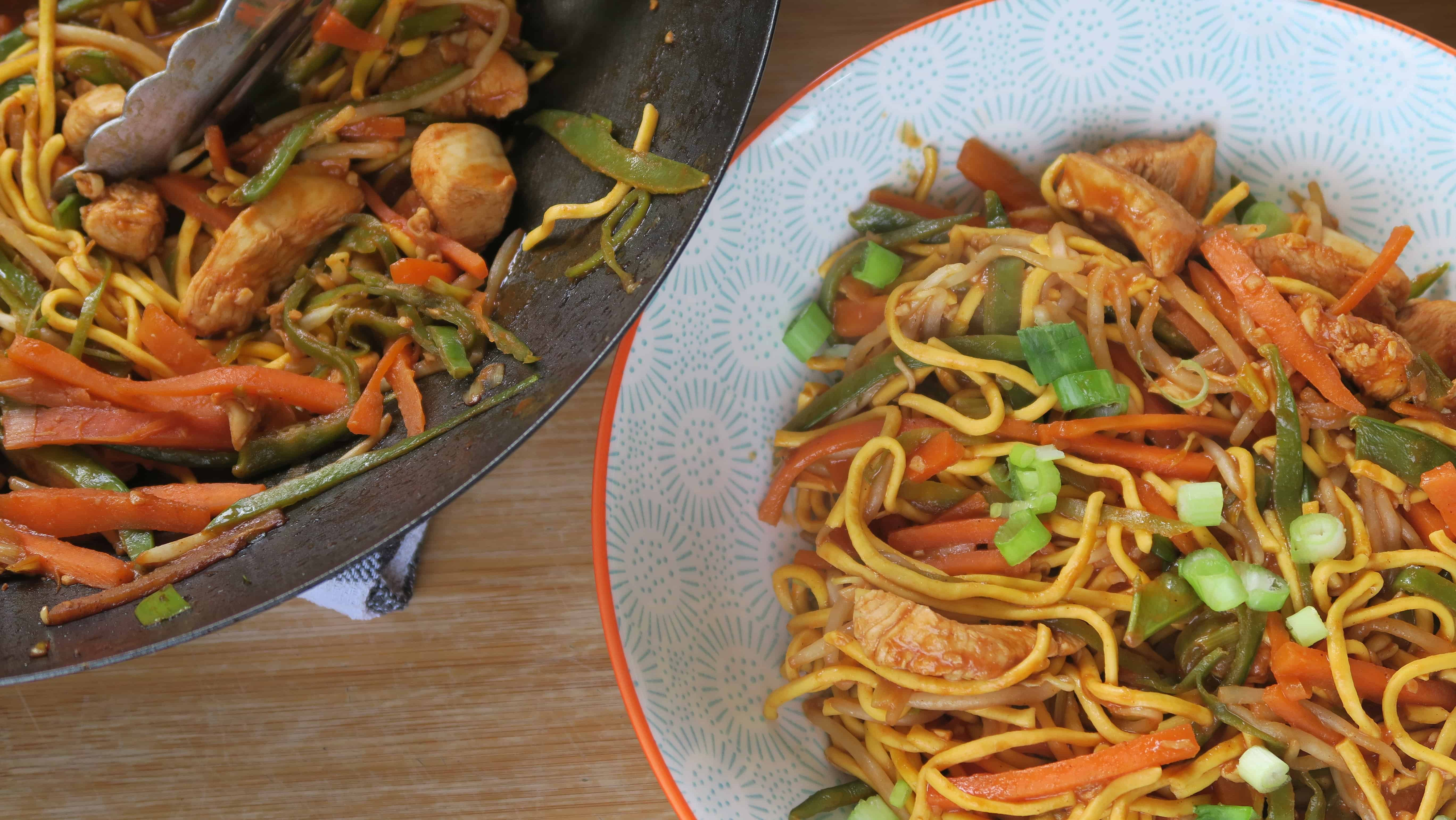 The Easy Gluten Free Chicken Chow Mein Recipe You Have To Try