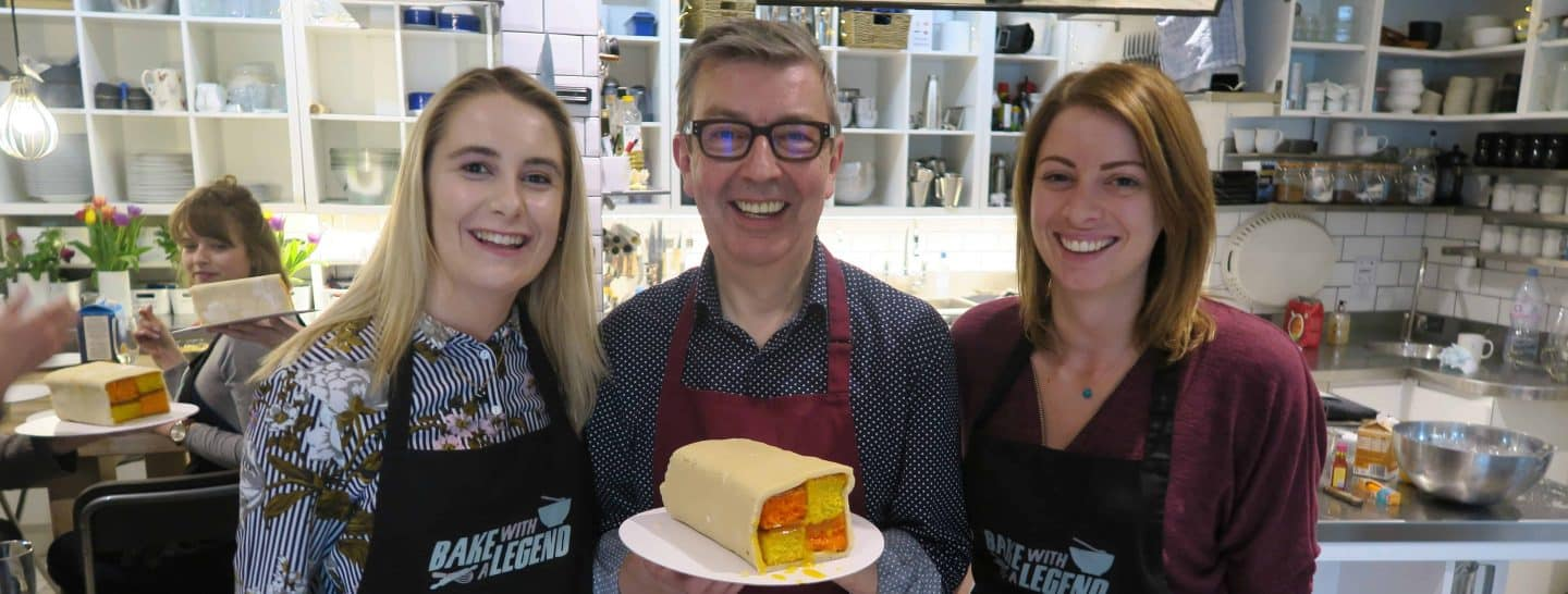 Bake with a legend howard middleton bake off