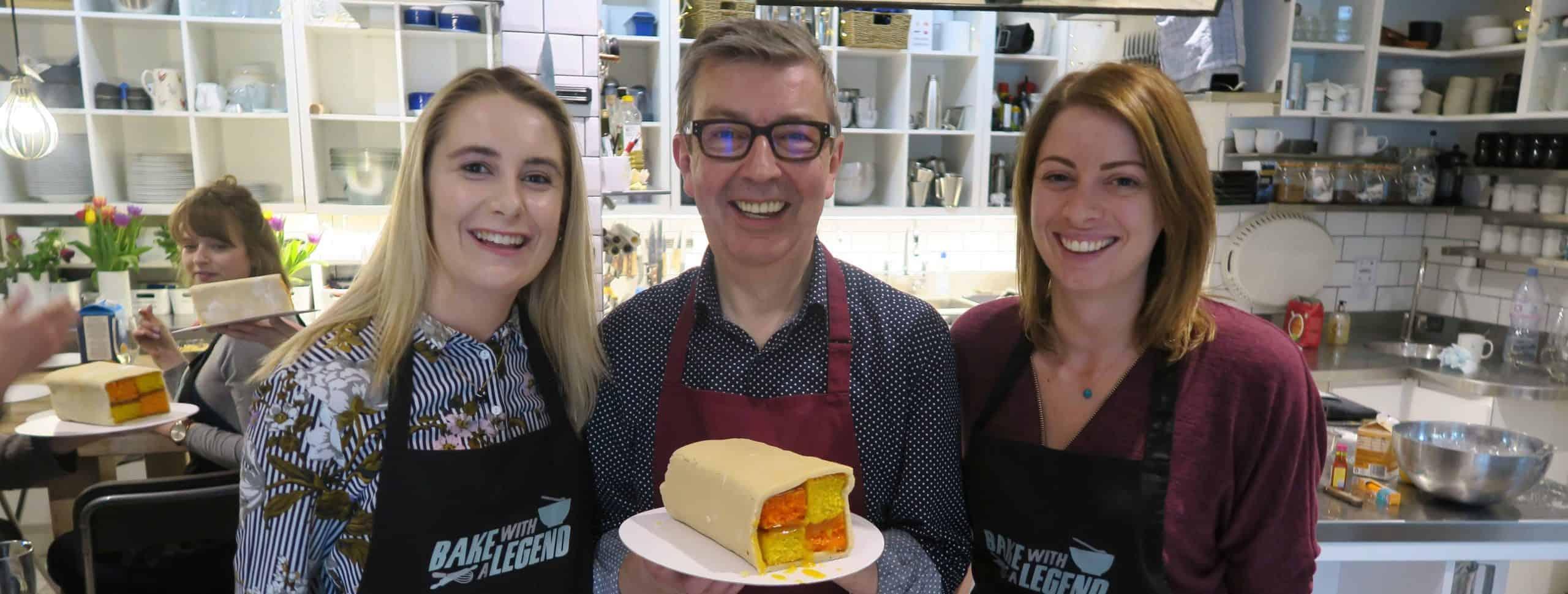 Bake with a legend howard middleton bake off