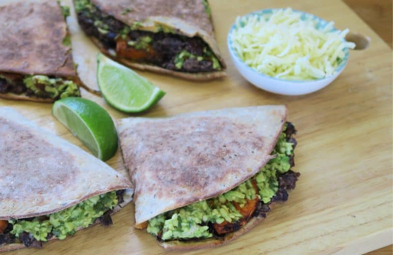 WARBURTONS GLUTEN FREE BLACK BEAN AND SWEET POTATO QUESADILLAS 21_EDITED