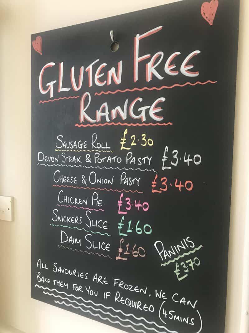 Gluten free barnstaple - barnstaple bakery