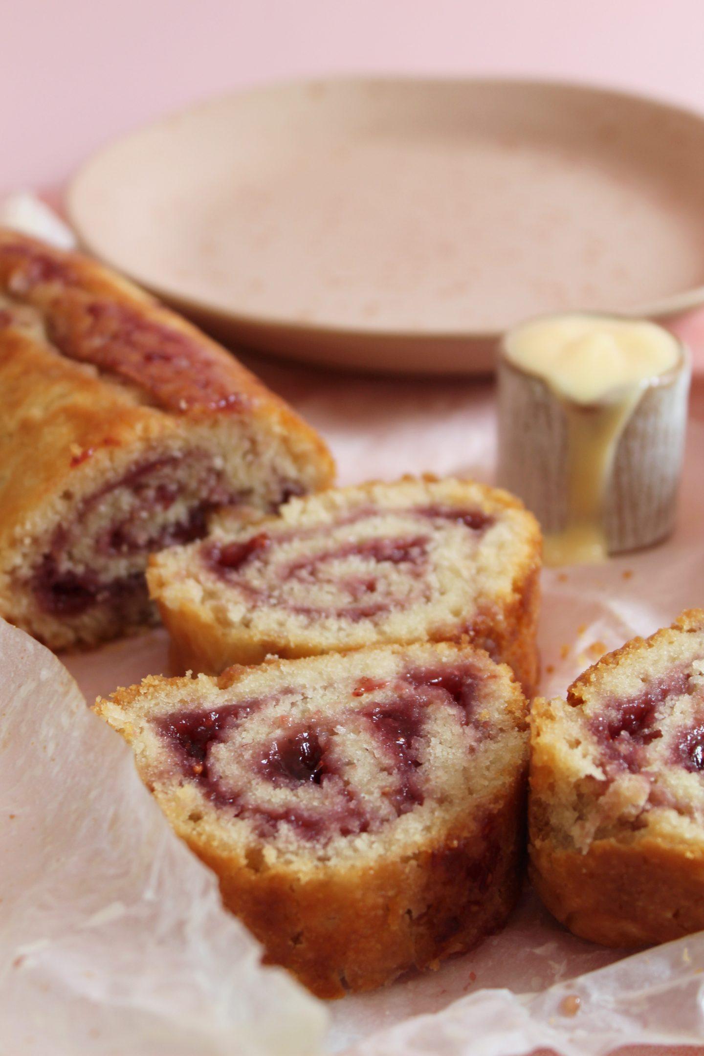 gluten free jam roly poly recipe
